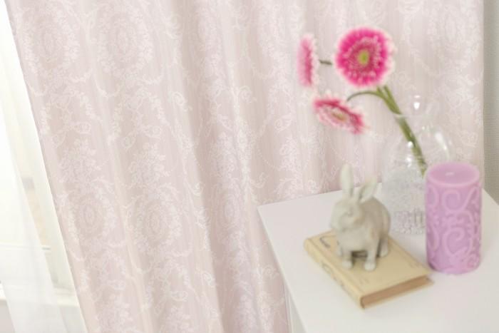 ピンクのカーテンで恋愛運アップの部屋作り【考えるカーテン】