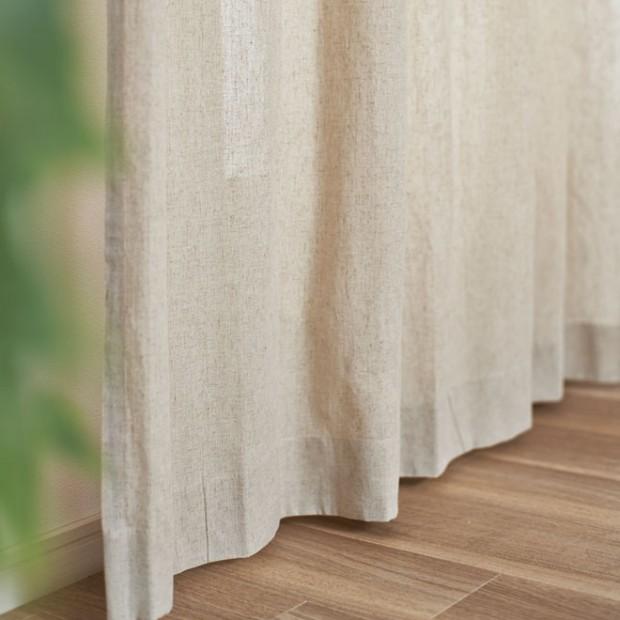 綿のドレープカーテンイメージ