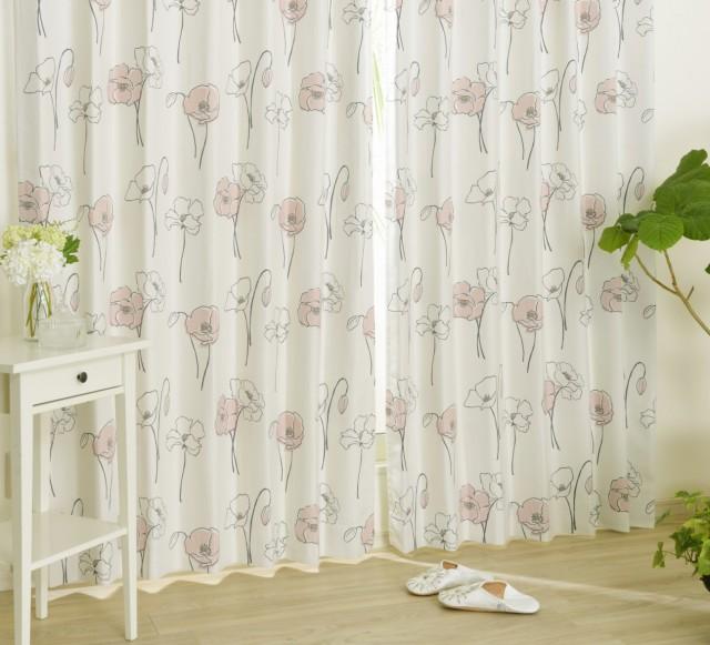 女性らしいフェミニンなお部屋におすすめなカーテン