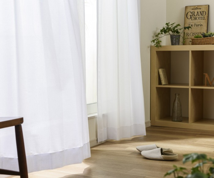 UVカット率90%以上の遮熱レースカーテン