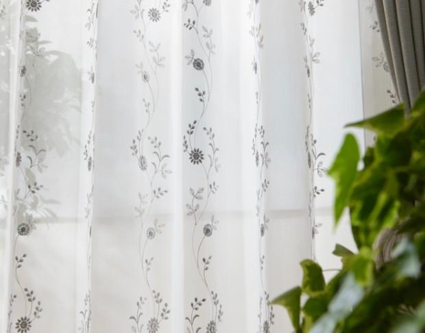 PA花柄スパンコール高級刺繍レースルーチェ