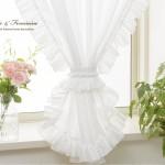 小窓カーテン フリルコーディネートイメージ