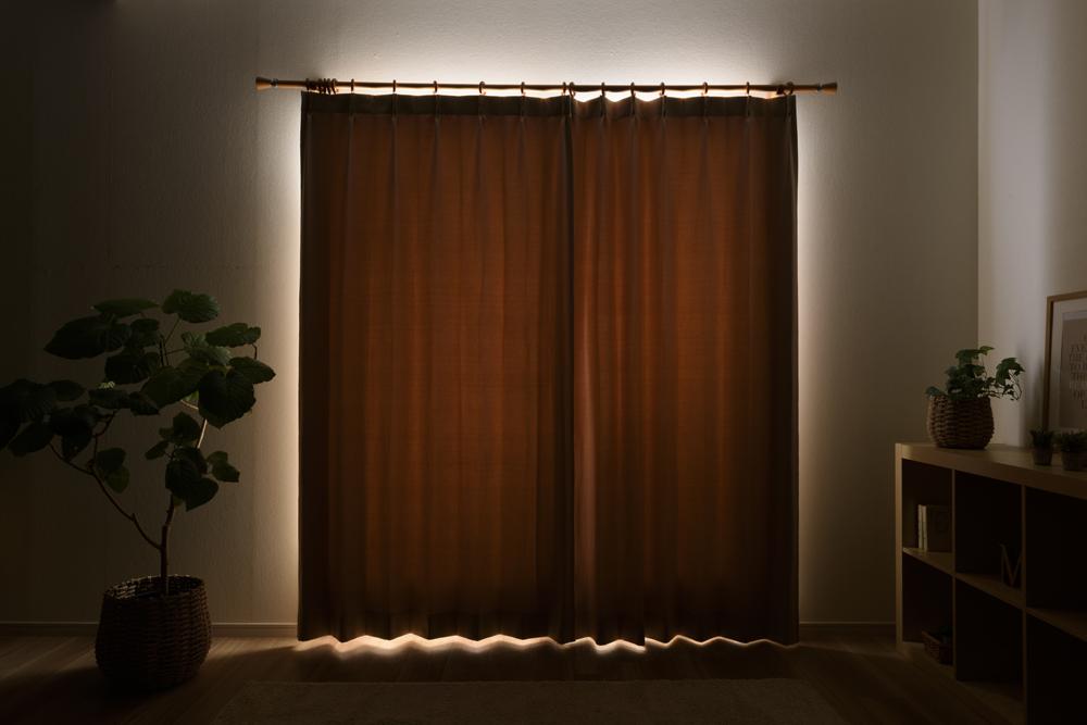 2級遮光カーテンの透過度