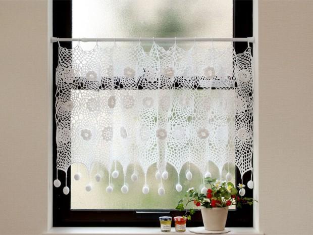 テンションポールを使った出窓カーテンコーディネート例08_08