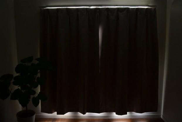 ドレープカーテンの遮光性イメージうららPK-1