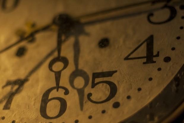 レトロで渋い時計