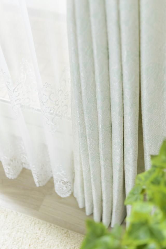 ジャガード織りのハイクラスカーテン
