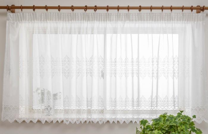 洗える出窓カーテン ユニス
