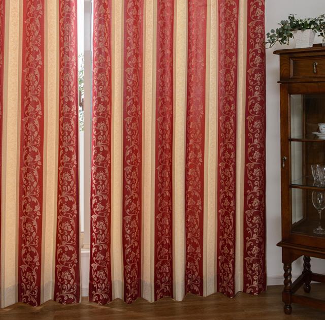 ヨーロピアン風のカーテン「マドラス」