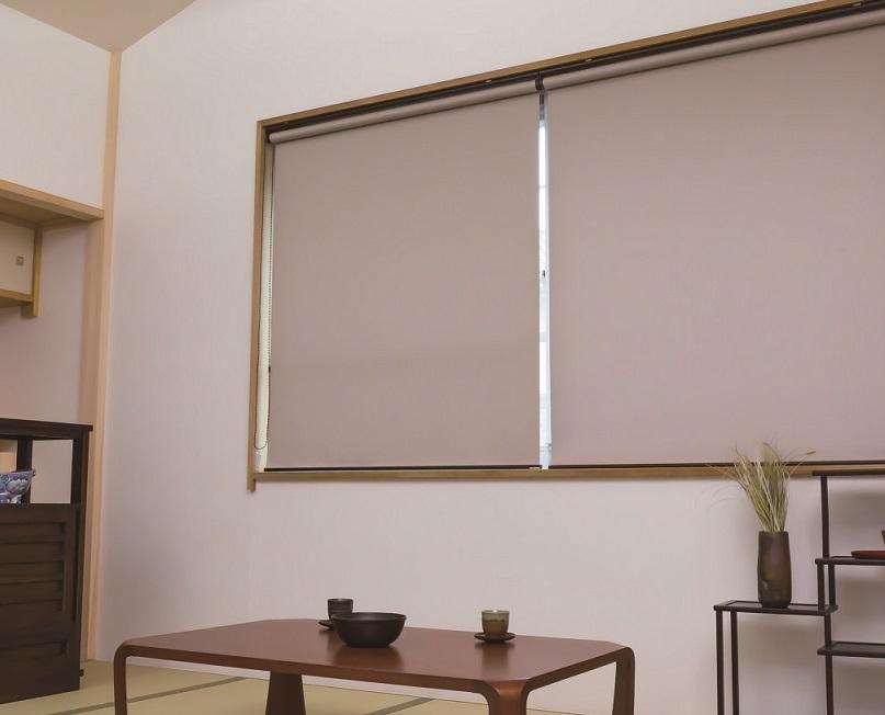 6色から選べるサイズオーダー可能なロールスクリーン