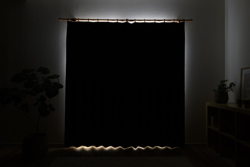 1級遮光カーテンの透過度