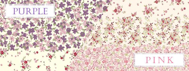 おすすめ花柄カーテン人気ランキング10位 「アロマ」のカラーバリエーション