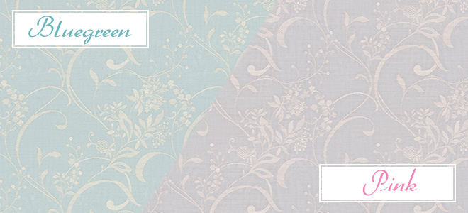 おすすめ花柄カーテン人気ランキング7位 「エスメ」のカラーバリエーション
