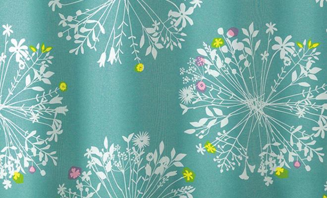 おすすめ花柄カーテンランキング2位 「フロリ」の詳細