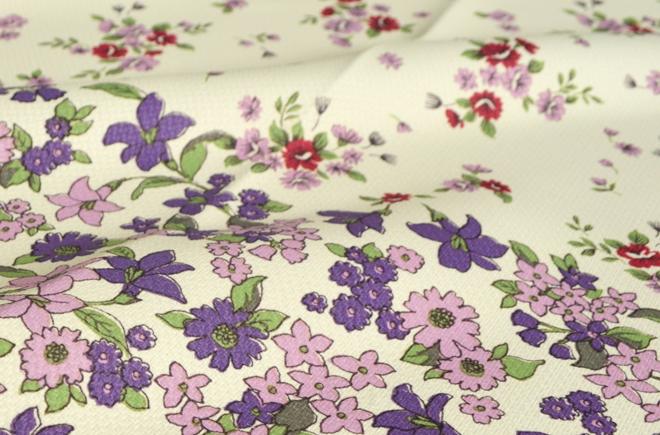 おすすめ花柄カーテン人気ランキング10位 「アロマ」の特徴
