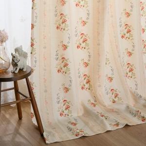 バラ柄・小花柄の花柄カーテン