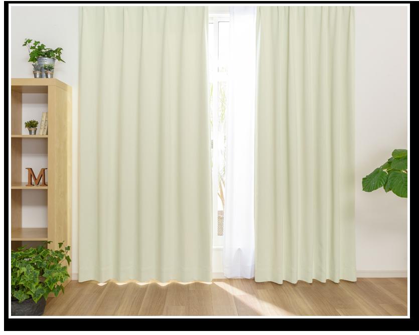 おすすめ寝室カーテン人気ランキング6位 コロレの商品詳細