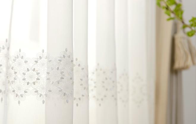 トルコ刺繍レースカーテン人気ランキング4位 メルレットの商品詳細