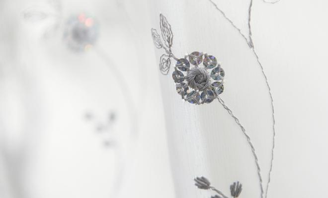おすすめのトルコ刺繍レースカーテン「ルーチェ」の柄詳細